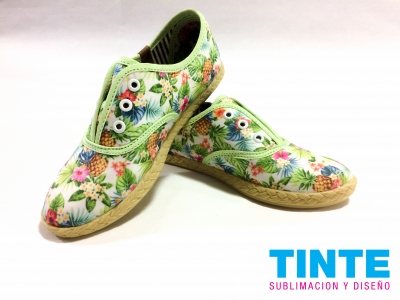 TINTE ZAPATILLAS SUBLIMADAS